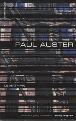 Paul Auster Leviathan leviathan paul auster s there was another that i might had but i am this one