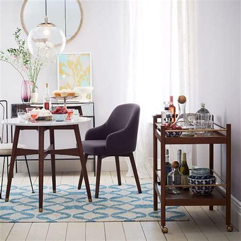 west elm bistro table reeve mid century bistro table west elm
