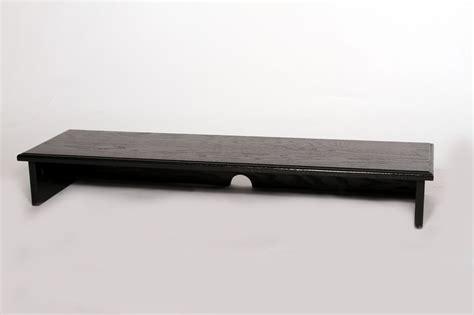 black quot sound bar quot tv riser shelf your sound bar safely by