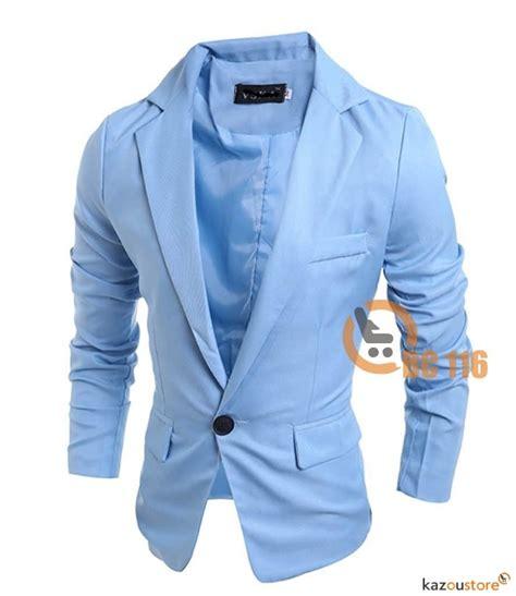 Spesial Tahun Baru Size S Top Slim Fitting Korset Pengecil detil produk blazer pria slim fit new 116 kazoustore