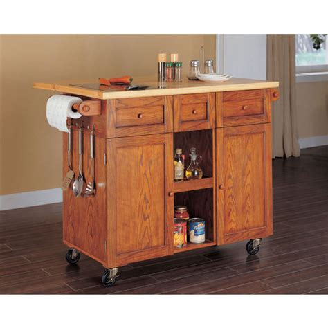Oak Kitchen Carts And Islands Kitchen Carts Kitchen Islands Work Tables And Butcher