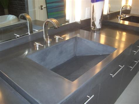cement countertops new age over 25 years of custom cabinets