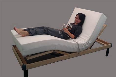 leura electric adjustable bed  memory foam mattress