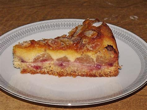 schmand apfel kuchen apfelkuchen mit schmand marzipan guss rezept mit bild
