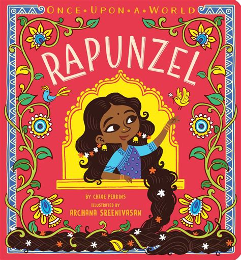 once upon a books rapunzel book by perkins archana sreenivasan