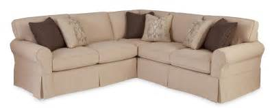 922800 two slipcovered sectional sofa with raf