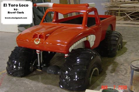monster truck beds el toro loco monster truck bed all wood