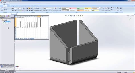 how to a design table in solidworks design tables in solidworks
