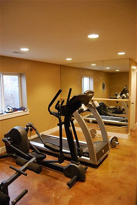 home exercise room beautiful