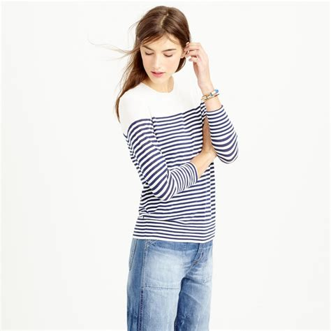 Sweater Slit Premium Emeral nautical striped sweaters for summer blogher