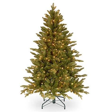 buy national tree 4 5 foot avalon spruce pre lit christmas