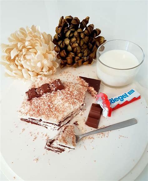 kinderschokolade kuchen kinderschokolade milchschnitten kuchen ohne backen