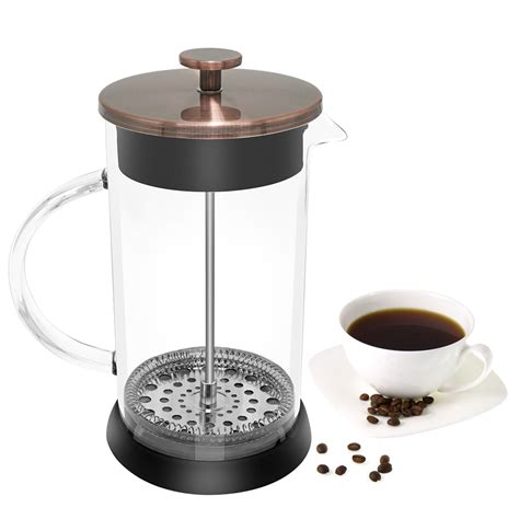 Coffe Pot 1200ml Potabelo stainless steel borosilicate presses coffee pot coffee maker tea pot 1000ml coffee