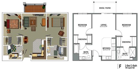 2 bedroom 2 bath apartment floor plans 2 bedroom 2 bath apartments marceladick com