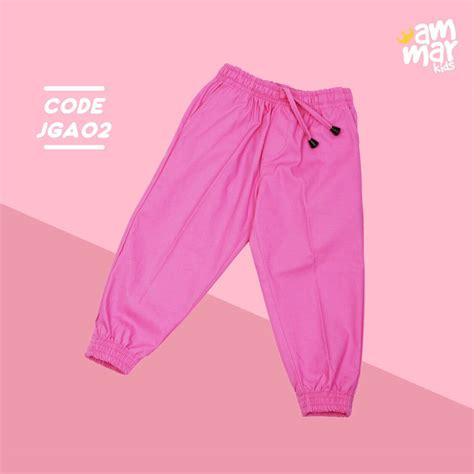 Celana Baby Kanvas Panjang celana jogger anak jga 02 l xl hijabpop