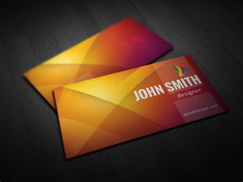 business cards psd  photoshop review
