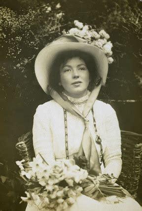 portrait of christabel pankhurst: 1905 1914 by gordon