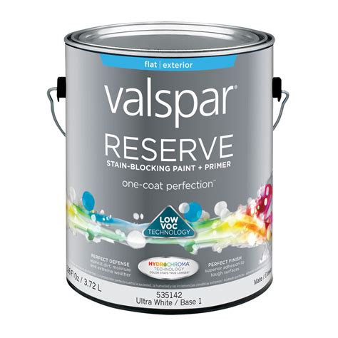 valspar paint shop valspar reserve flat latex exterior paint actual net