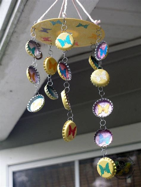 wind chime craft for a bit different wind chime crafts crafts