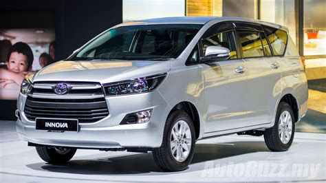 toyota my 2016 toyota innova launched in malaysia priced from