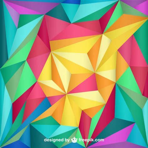 imagenes vectores de triangulos fondo con tri 225 ngulos de colores descargar vectores gratis