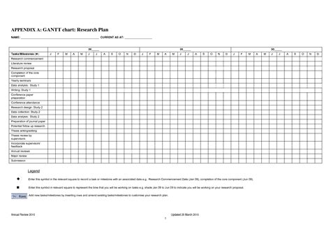 4 best images of blank gantt chart template printable
