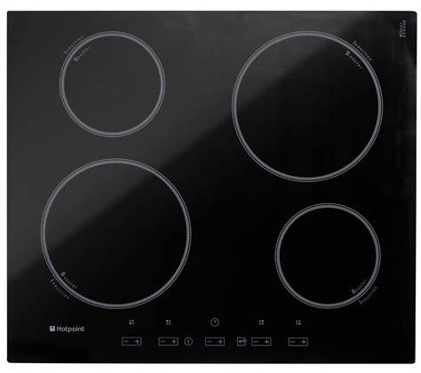 induction hob dishwasher buy hotpoint cix644ce electric induction hob black free delivery currys
