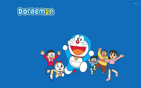 wallpaper computer doraemon doraemon 2 wallpaper anime wallpapers 27675