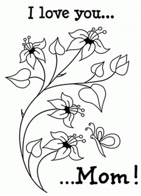 cute coloring pages for mother s day mothers day coloring pages for kids big collection cards