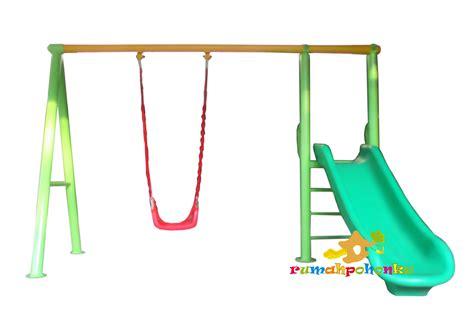outdoor swing set slide toko playground