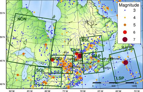earthquake zones in canada earthquake zones in eastern canada