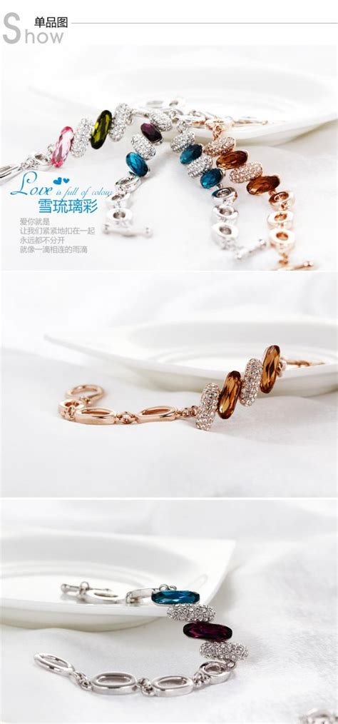 jewelry supplies australia 205033 tanzanite color snow bracelets for