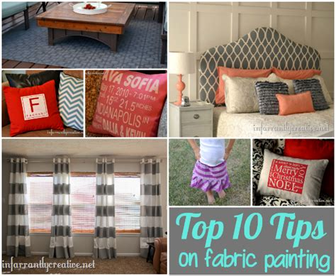 top tips for painting fabric infarrantly creative