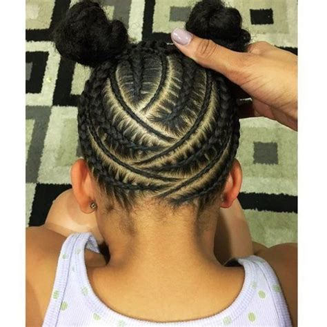 hair braids going up in a ball top 100 black girls hairstyles photos here s a stylish