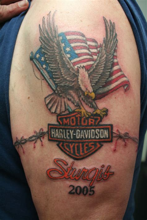 harley davidson eagle tattoo gallery harley davidson tattoo picture at checkoutmyink com
