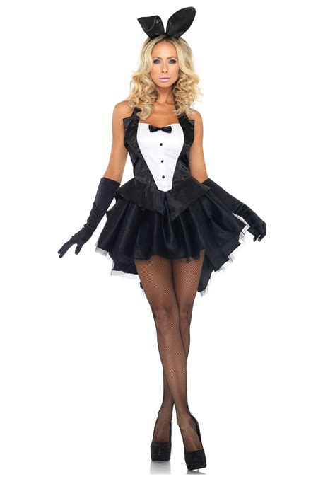 tux tails bunny costume
