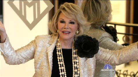 Joan Rivers Mourns The Passing Of by State Joan Rivers Doctors Failed To Identify