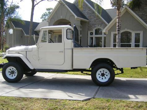 vintage toyota truck sell used 1965 toyota land cruiser fj40 fj45 longbed