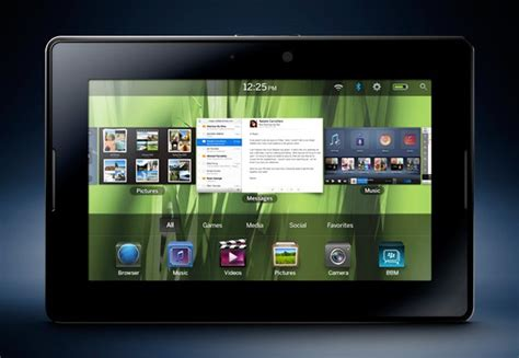 Tablet Blackberry introduces playbook the blackberry tablet