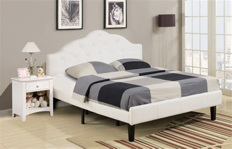 full size bed white full size platform bed contemporary platform
