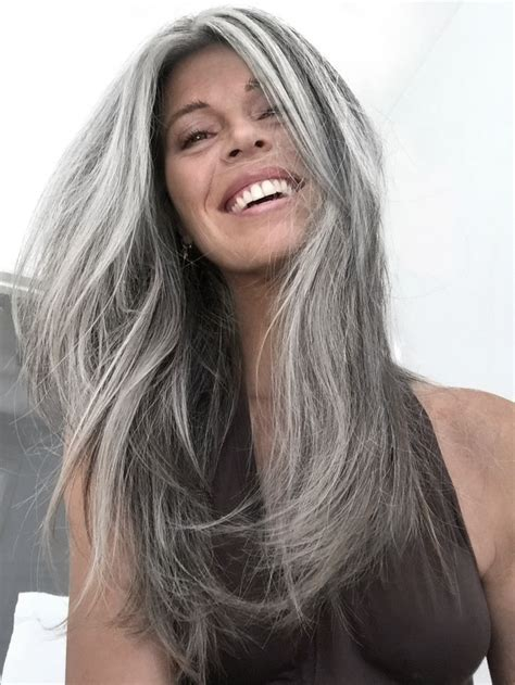 platinum hair with dark highlights for women60 years old 271 best images about gray silver and white hair on