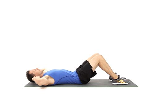 the proper form for an abdominal crunch livestrong