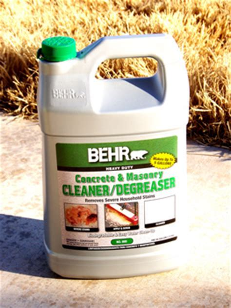 Behr Biodegradable Concrete & Masonry Cleaner Degreaser No