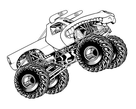 monster truck jam videos for kids monster jam coloring pages zvershtina info