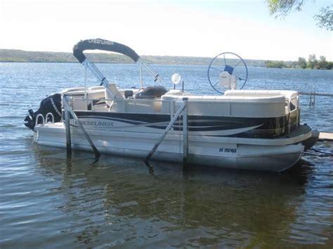 tracker boats saskatchewan image detail for 2009 crestliner 22 batata bay pontoon