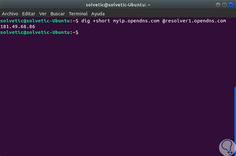 encontrar  ver direccion ip publica web  comandos