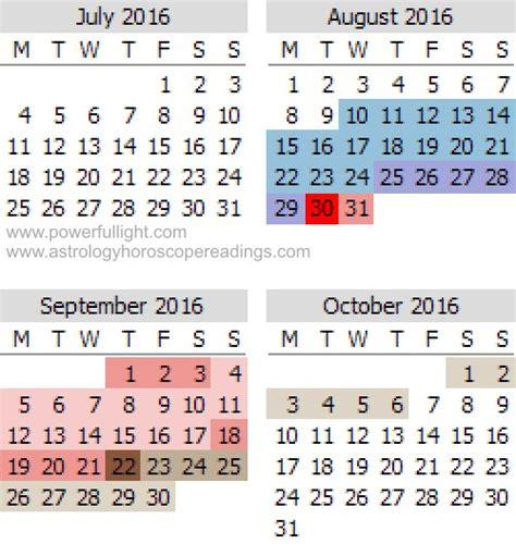 Mercury Retrograde Calendar Mercury In Retrograde 2016 Calendar Calendar Template 2016
