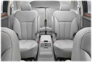 Chrysler Pacifica How Many Seats Chrysler Pacifica The Second Generation 2007 Onwards