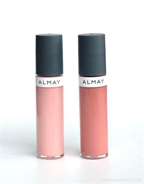 Lipgloss Caring Colours almay color care liquid lip balm review and swatches