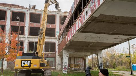Look! They're Really Working on the Packard Plant   Curbed